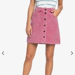 Small Roxy Unforgettable Fall Corduroy Skirt